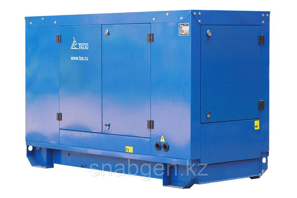 Дизельный генератор ТСС АД-40С-Т400-2РПМ11 с АВР в погодозащитном кожухе (T