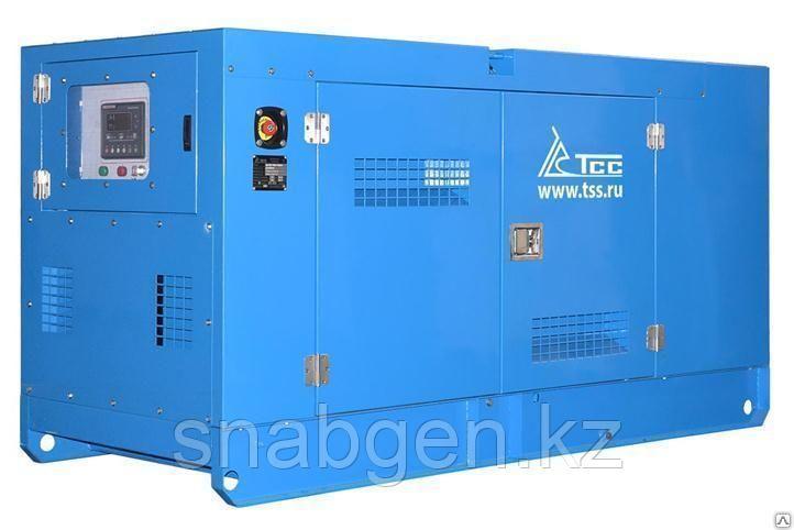 Дизельный генератор ТСС АД-40С-Т400-1РКМ19 в шумозащитном кожухе