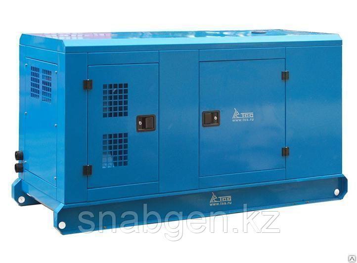 Дизельный генератор ТСС АД-60С-Т400-2РКМ с АВР в шумозащитном кожухе
