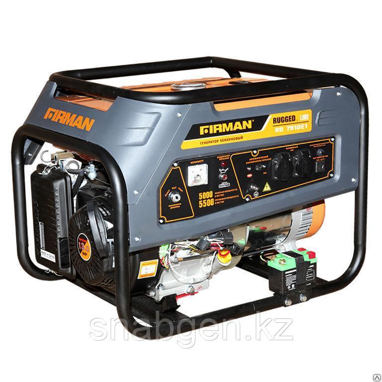 Генератор бензиновый FIRMAN RD7910Е1