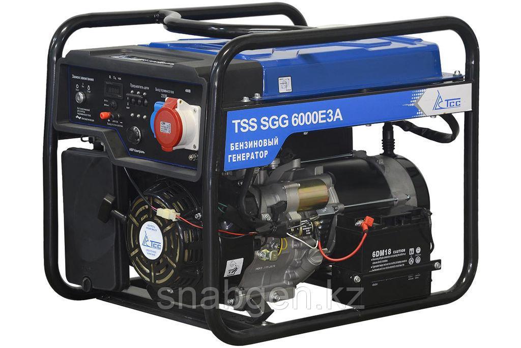 Бензогенератор TSS SGG 6000 E3A