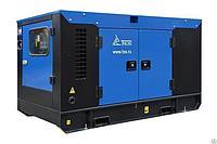 Дизельный генератор ТСС АД-10С-Т400-2РПМ19 в погодозащитном кожухе с АВР