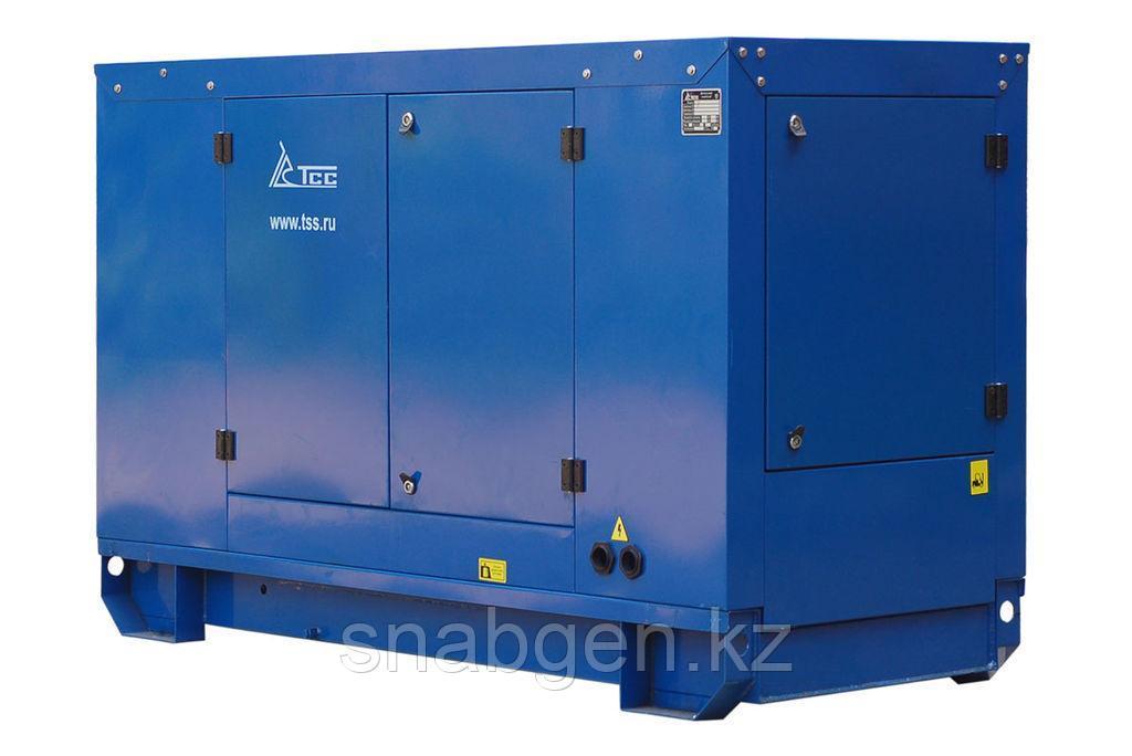 Дизельный генератор ТСС АД-12С-Т400-2РПМ11 в погодозащитном кожухе с АВР (T