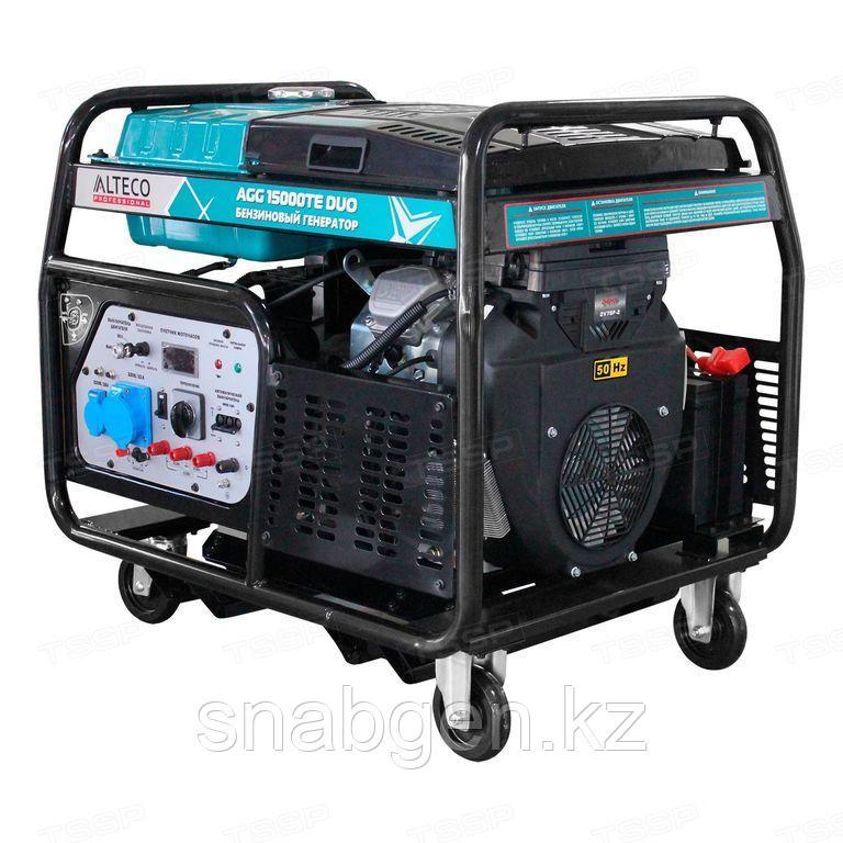 Бензиновый генератор ALTECO AGG 15000TE DUO