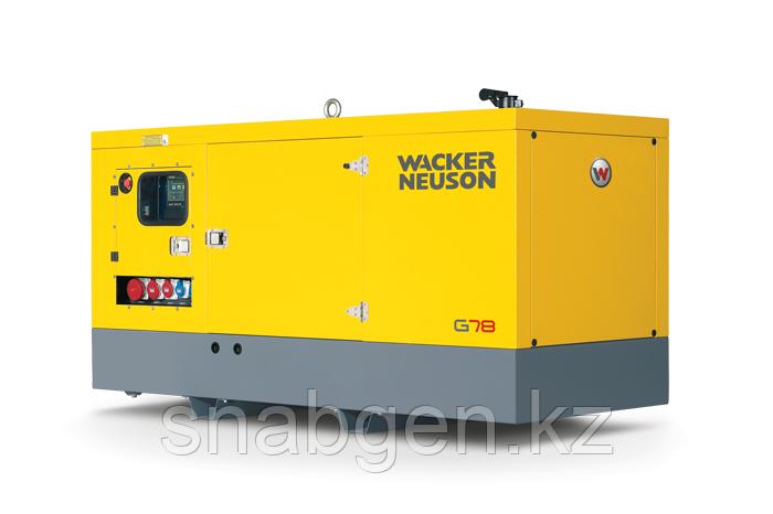 Мобильный генератор Wacker Neuson G 78