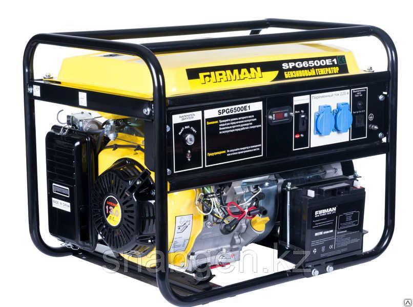 Генератор бензиновый FIRMAN SPG6500E1