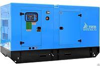 Генератор дизельный ТСС АД-150С-Т400-1РКМ5 в шумозащитном кожухе