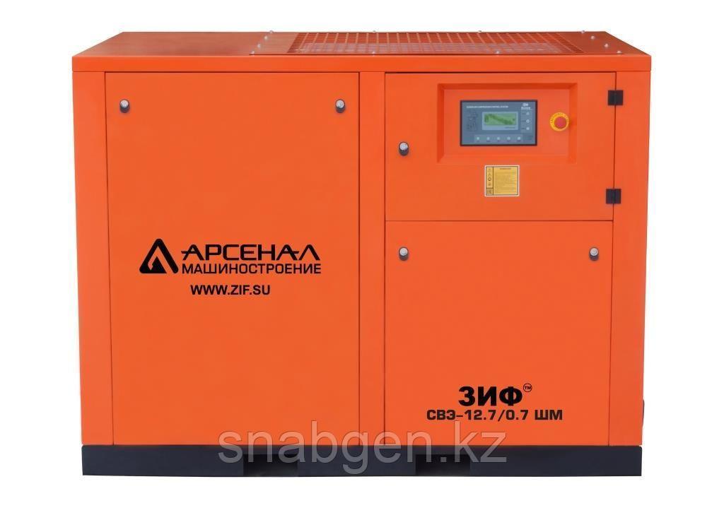 Станция компрессорная электрическая ЗИФ-СВЭ-11,5/1,0 ШМЧ с ЧРП