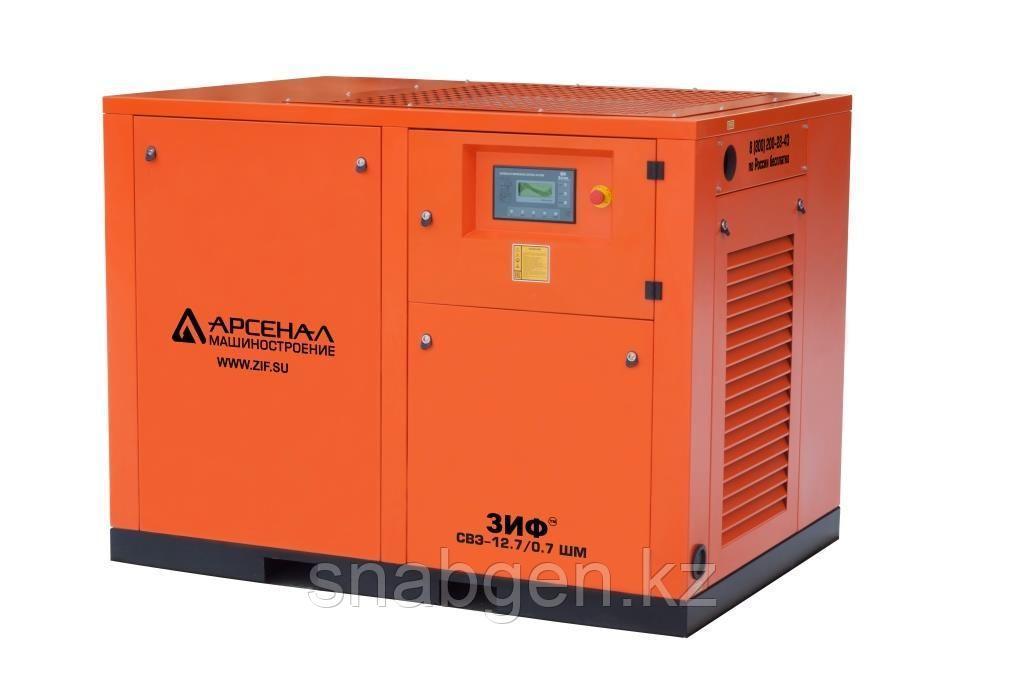 Станция компрессорная электрическая ЗИФ-СВЭ-11,5/1,0 ШМ. теплый цех