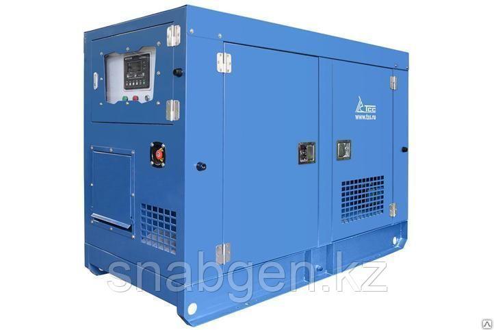 Дизельный генератор ТСС АД-24С-Т400-2РПМ11 в погодозащитном кожухе с АВР