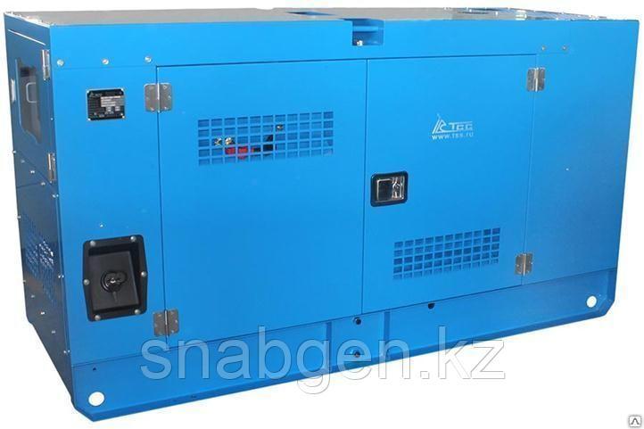 Дизельный генератор ТСС АД-30С-Т400-2РКМ11 с АВР в шумозащитном кожухе