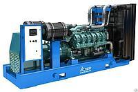 Дизельный генератор ТСС АД-640С-Т400-1РМ9Baudouin