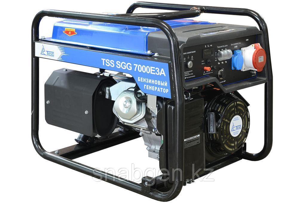 Бензогенератор TSS SGG 7000E3A