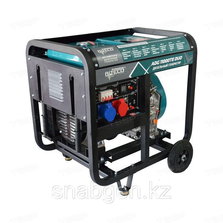 Дизельный генератор Alteco Professional ADG 11000TE DUO