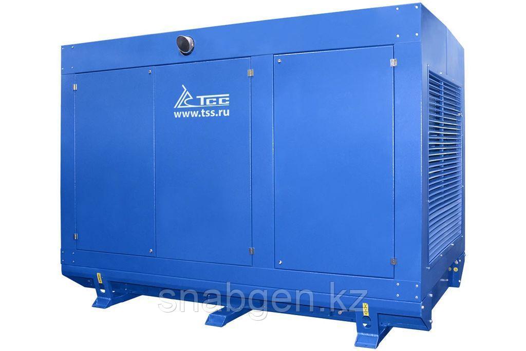 Дизельный генератор 300 квт в погодозащитном кожухе ТСС АД-300С-Т400-1РПМ5