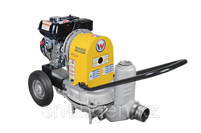 Диафрагменная мотопомпа для грязной воды Wacker PDI 3A