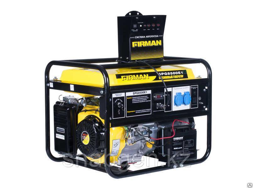 Генератор бензиновый FIRMAN SPG8500E1+ATS