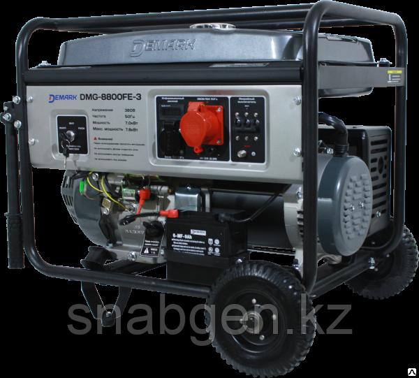Генератор бензиновый Demark DMG 8800FE-3