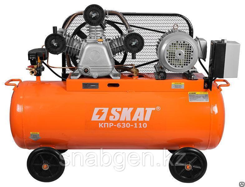 Компрессор поршневой SKAT КПП-630-110
