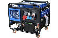 Дизель, дизельный генератор TSS SDG 10000EH3 10 кВт 380В, передвижной