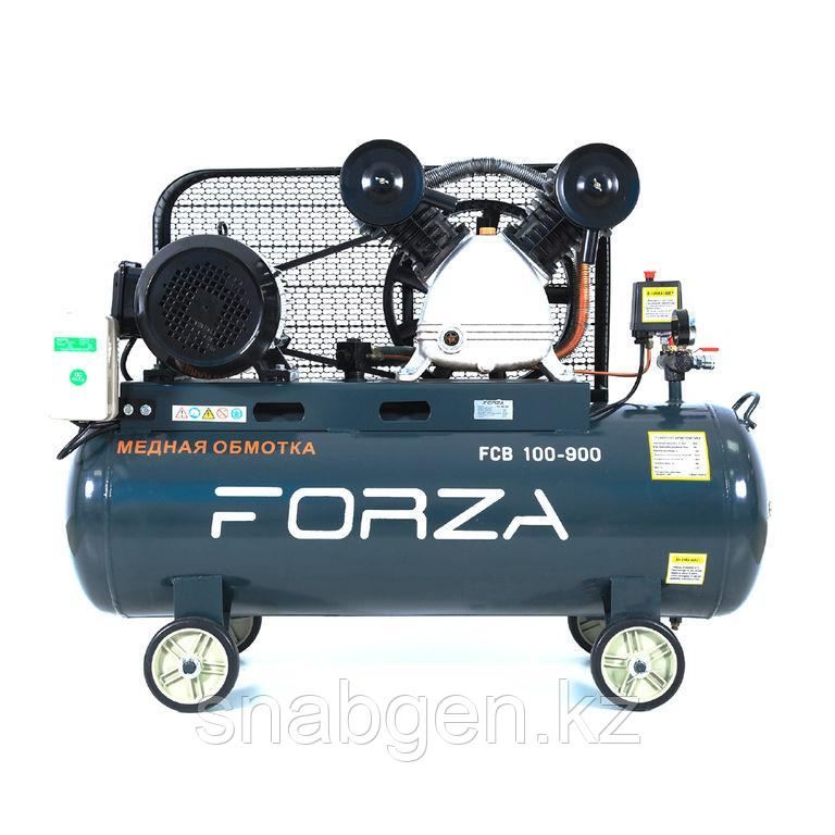 Компрессор поршневой Forza FCB 100/900