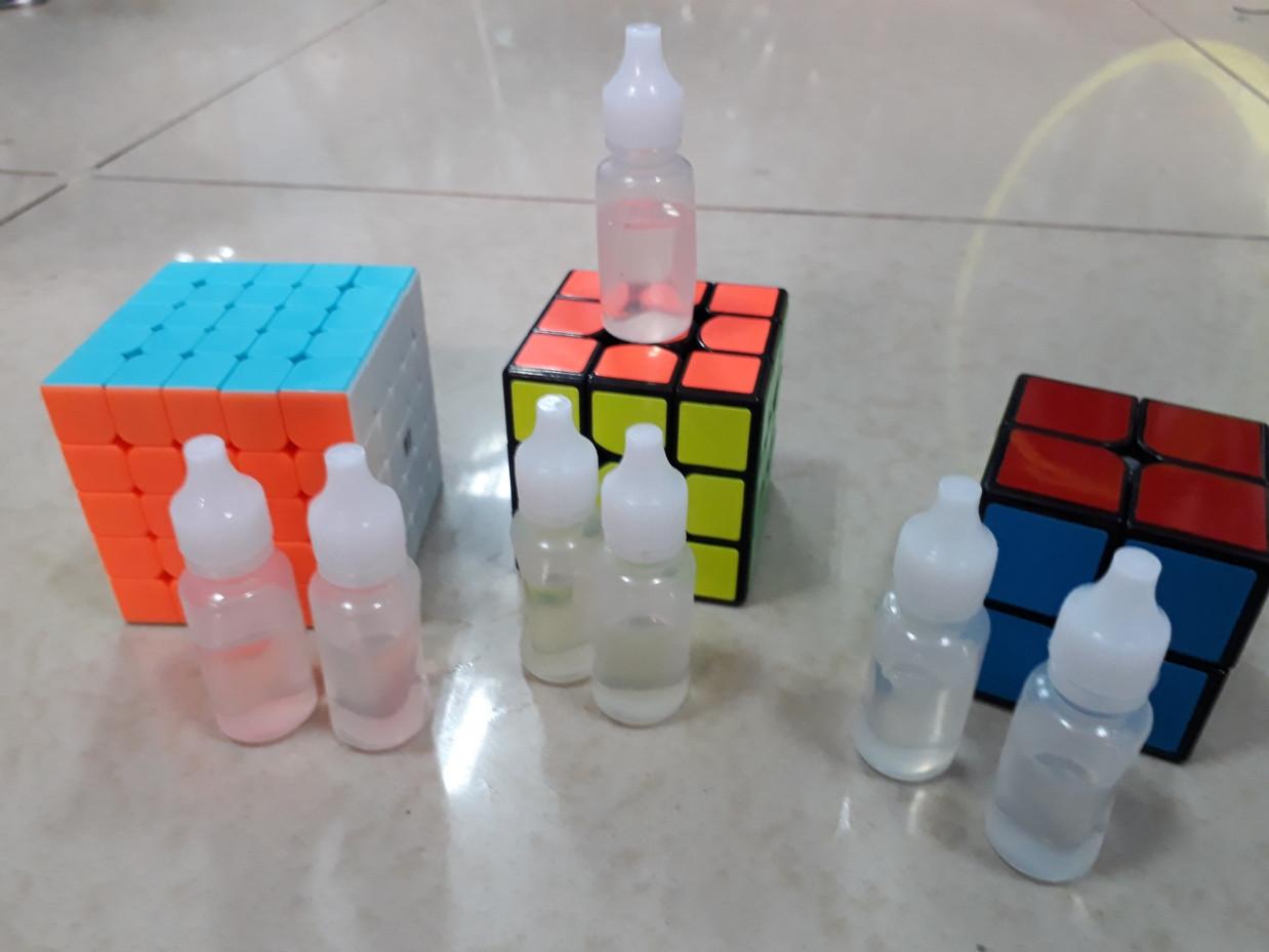 Силиконовая смазка для кубиков Рубика. 10 мл. Качество - фото 2