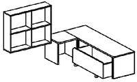 Игровой модуль для развивающей деятельности (1200х800х1020 мм) арт. КП9