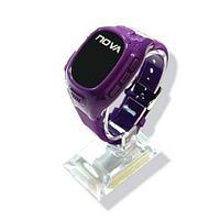 Детские часы-телефон nova kids с трекером gps s200 standart, purple