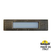 FUMAGALLI Светильник для подсветки лестниц встраиваемый FUMAGALLI NINA 190 7C1.000.000.BYK1L