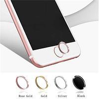 Кнопка сенсорного идентификатора для apple iphone 5/5s/6/6s/6 plus/6s plus/7/7 plus, чёрно-золотой