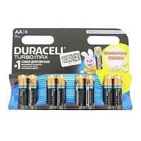 Батарея duracell lr6-8bl turbo max (aa 1.5v) 8/96