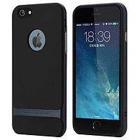 Чехол rock apple iphone 6/6s, royce series, синий (blue)