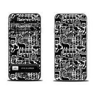 Наклейка qsticker apple iphone 4/4s, marimekko white