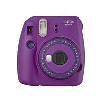 Цифровой фотоаппарат fujifilm instax mini 9 clear purple в подарочной коробке