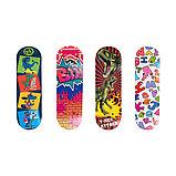 Скейтборд 43x13 с разноцветными рисунками, фото 3