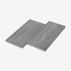 Заборная доска UnoDeck Forte (Серый 3d) 140×12 мм