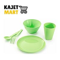 Набор посуды для детей (салатный)