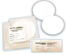 Мембрана микрофильтрационная типа МФАС-М на основе ацетата целлюлозы , d=142 мм, d пор-0,4 мкм, (уп.50 шт)