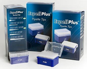 Наконечники Expell1000 (1-1000 мкл) для одноканальных дозаторов CAPP, 1 штатив х 96 шт