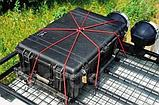 Эластичная багажная стропа (резинка для крепления багажа) AIRLINE (4шт.), фото 4