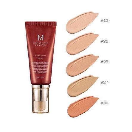 BB крем Missha M Perfect Cover BB Cream SPF 42/PA +++ (50мл), фото 2