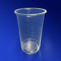 Россия Стакан пластиковый PP 200мл прозрачный 100 шт/уп