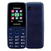 Мобильный телефон Philips E125 синий