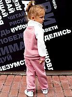 Костюм д/девочки, пудра арт.1614/189/002
