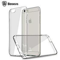 Чехол baseus apple iphone 6/6s, силиконовый, прозрачный