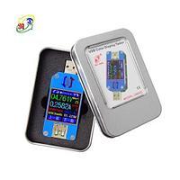 Usb тестер type-c жк-вольтметр амперметр для батарей и зарядных устройств