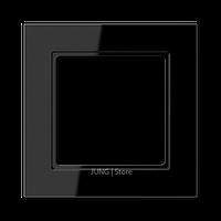 AC Рамка 1-ная, чёрн.