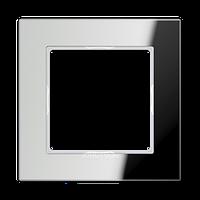 AC Рамка 1-ная, стекло серебро зерк.