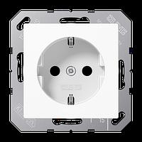 A500 Розетка 2К+З 16А 250В~, бел.