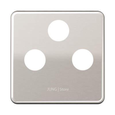 CD500 Накладка TV/FM/(SAT), платин.